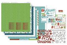 City Sidewalks / A beautiful paper pack that will help you enhance your Christmas celebration photos, and inspire all sorts of crafty gifts and goodness, from CTMH,