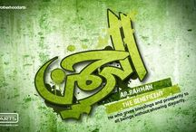 He has the most beautiful names ☝️ ALLAH (C.C.) Esma-ul Husna