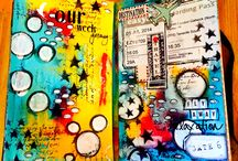 Art Journaling / by Toby Skaggs