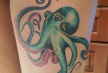 Octopus tattoo