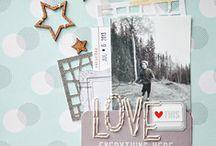 ЛЮБОВЬ. Идеи скрапбукинга / Scrapbooking for love