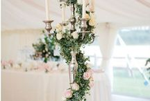 Candelabra Wedding Decorations / Statement pieces for your wedding decor.