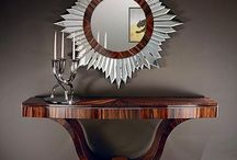 Art Deco & Nouveau Home Furnishings / Things you use or decorate your OWN homes with. / by Janice Roth