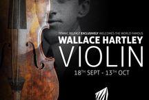 Titanic bandmaster's violin coming to Titanic Belfast