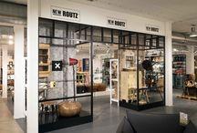 Conceptshops New Routz / Onze conceptshops vind je bij Het Kabinet in Bunnik en Loods 5 Amersfoort & Zaandam.