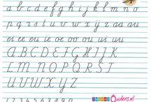 schrijfletters
