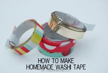 Dekortapaszos ötletek/Washi Tape