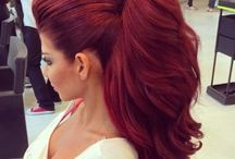 Culoare păr roșcat