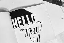 Moanlett / #lettering #handlettering #typography