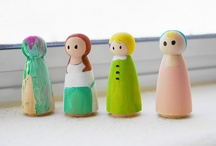 Doll crafts with little ones