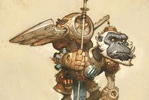 Mechanical Monkeys