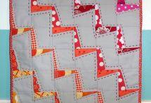 patchvorkový vzor deka