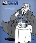 Gilbert Magazine Covers / Most of our cover art is created by our American Chesterton Society graphic artist Ted Schluenderfritz. His amazing art can be found at 5sparrows.com