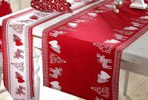 Christmas Decoration / Die perfekten textilen Accessoires für die Weihnachtszeit!