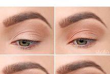 Eye makeup,