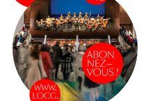 Saison 2015-2016 / Retrouvez les visuels de saison 15-16 des orchestres de l'AFO ! #graphisme #visuels