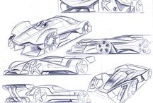 CAR Design / Inspiring sketches and renders!