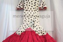 vestidos onda española
