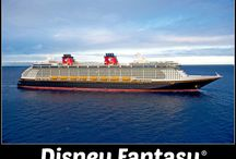 Disney Fantasy - Disney Cruise Line Ship / Sister ship to the  Disney Dream Ship #DCL Sail to Castaway Cay! Eat at Palo, Remy, Cabanas, Animator's Palate, Enchanted Garden & Royal Palace. Ride the AquaDuck & see shows in the Walt Disney Theater.