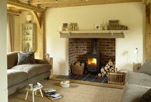 Fireplace / Living room