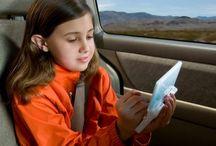 Vakantie - kids - in de auto