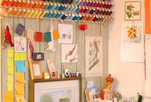 Sewing studio makeover / by Brooke Fuller