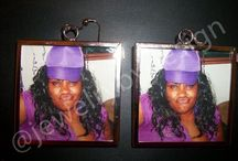 Custom pic earrings / Custom pic earrings for family, friends, gifts great for any occasion