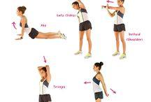 Upper body / Stretches exercises