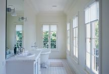 Bathrooms / All the bathrooms that reflect my design philosophy. Simple and restrained, but individual and confident.
