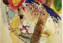 Painting Kandinsky