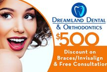 $500 discount on braces or Invisalign / $500 discount on braces or Invisalign