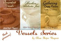 Vessels Series / This board includes information about my Vessels Series: Imperfect Vessels, Broken Alabaster Jars and Gathering Empty Pitchers!