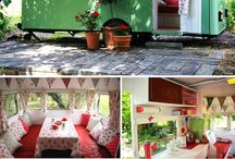 Cute caravans / Caravans refurbishment for the garden
