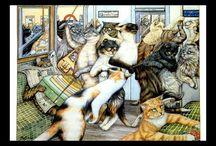 Cat Paintings/Illustrations