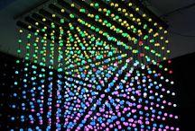 3D LED Installationen