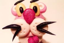 luxor chocolatier / pink panther marzipan