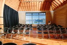 Conferences & Events at Rippon / The Rippon Hall is a flexible event space for conferences and events