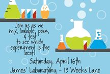 Jedd mad scientist party