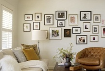 Picture Hanging Ideas / by Virginia Gabora