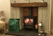 Customer Fireplace Stove Installations Glasgow / Fireplaces and stoves we have installed for our customers all over central Scotland. See more at http://www.fireplace-world.com/fireplaces/customer-fireplace-installations/