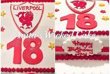 18th Liverpool football cake