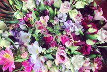 Les bouquets reçus