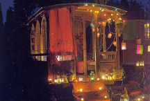 romany gypsy caravan / by The Green Parent