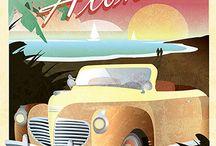 Art Deco poster design / Art Deco poster designs
