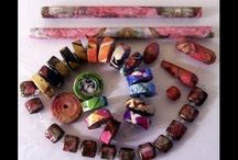 PAPER BEAD-SIZEABLE SAUCER
