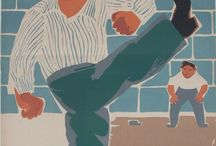 soccer / vintage soccer posters to celebrate 2014 World Cup