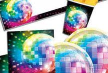 Disco fest tema / Alt til din Disco fest og 70'er fest. Stort udvalg af tilbehør og festartikler til din Disco fest.