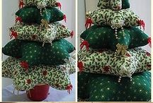 sewing christmas tree decorations