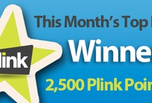 Fan Frenzy / Plink's Top Facebook Fans get a chance to win weekly (1,000 Plink Points) and monthly (2,5000 Plink Points). / by Plink