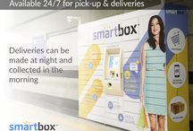 24/7 Pick-Up & Delivery / Smartbox automated parcel delivery terminals are available 24/7 for pick-up and delivery